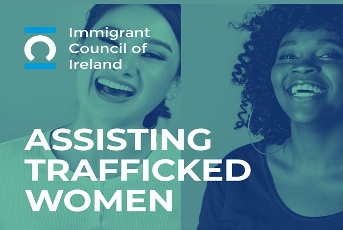 Assisting Trafficked Women: 2 women smiling